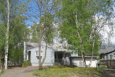 Anchorage Single Family Home For Sale: 705 W 47th Avenue