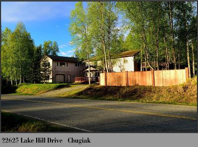 Chugiak Multi Family Home For Sale: 22625 Lake Hill Drive