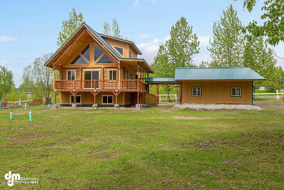 Chugiak AK Single Family Home For Sale: $400,000