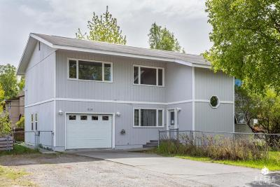 Anchorage Single Family Home For Sale: 824 W 74th Avenue