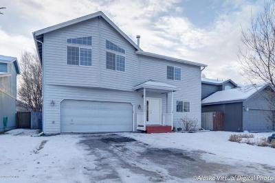 Anchorage AK Single Family Home For Sale: $377,000