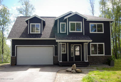 Wasilla Single Family Home For Sale: 1741 W Amethyst Road