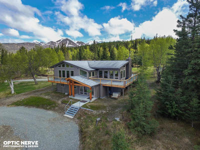 Anchorage Single Family Home For Sale: 7320 Rabbit Creek Road