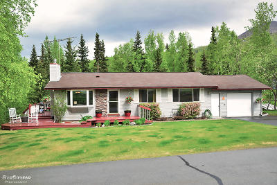 Chugiak, Eagle River Single Family Home For Sale: 19111 2nd Street