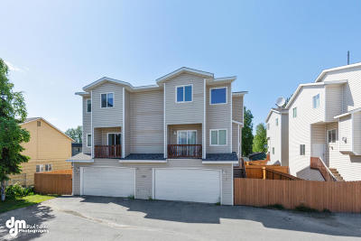Anchorage Condo/Townhouse For Sale: 5304 Arctic Boulevard #4B