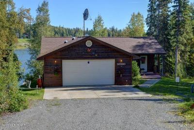 Soldotna, Sterling, Kenai Single Family Home For Sale: 36390 Lakeshore Drive