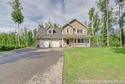 Wasilla Single Family Home For Sale: 7141 W Birch Leaf Circle