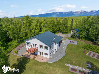 Wasilla Single Family Home For Sale: 4289 N Caribou Street