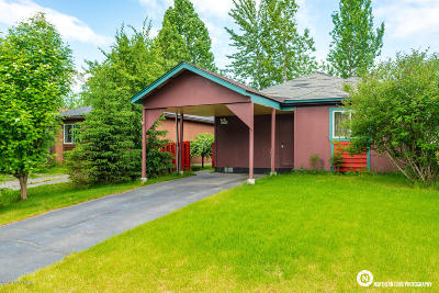 Anchorage Single Family Home For Sale: 7541 Regal Mountain Drive