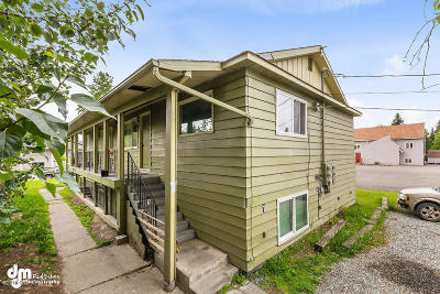 Anchorage AK Multi Family Home For Sale: $412,500