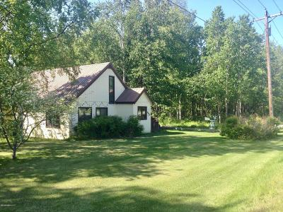 Wasilla Single Family Home For Sale: 1500 E Fairview Loop