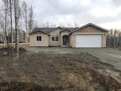 Wasilla Single Family Home For Sale: 9653 S Twilight Drive