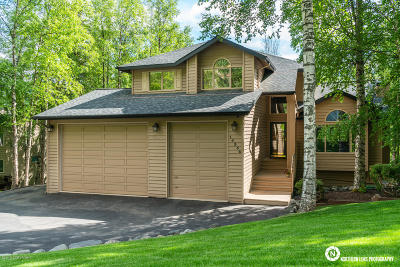 Eagle River Single Family Home For Sale: 10336 Stewart Drive