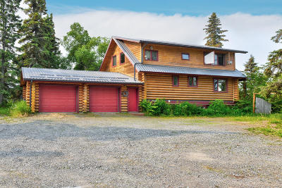 Kenai Single Family Home For Sale: 35675 Kalifornsky Beach Road