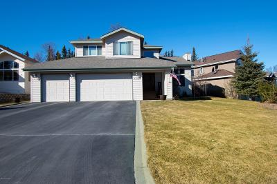 Eagle River Single Family Home For Sale: 8516 Lassen Circle