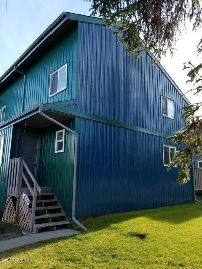 Kenai Condo/Townhouse For Sale: 901 Auk Street #C6
