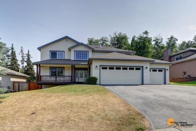 Eagle River Single Family Home For Sale: 8805 Acadia Drive