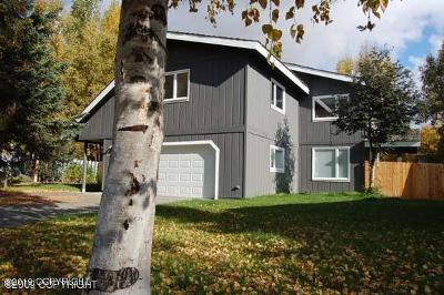 Anchorage Single Family Home For Sale: 4121 Patterson Circle