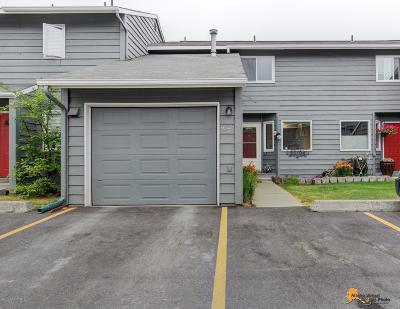 Anchorage Condo/Townhouse For Sale: 9547 Victor Road