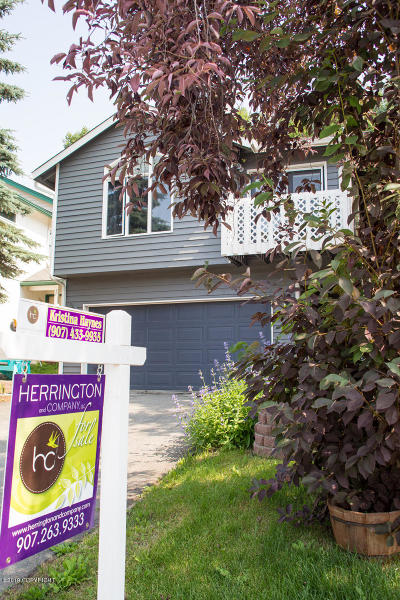 Anchorage Single Family Home For Sale: 9919 Reliance Drive