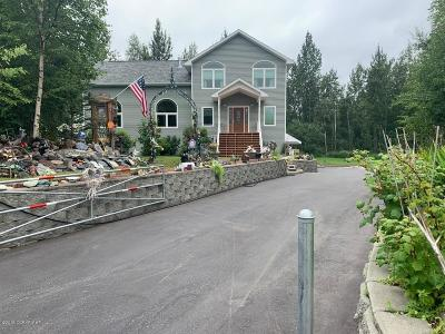 Wasilla Single Family Home For Sale: 2900 N Barrys Resort Drive