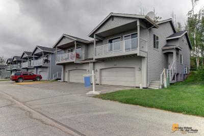 Wasilla Condo/Townhouse For Sale: 6050 S Clearview Loop #15