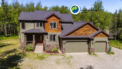 Wasilla Single Family Home For Sale: 4920 W Fairview Loop