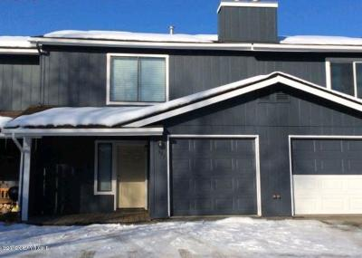 Anchorage Condo/Townhouse For Sale: 8050 Pioneer Drive #907