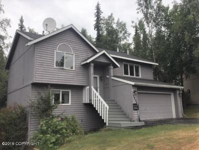 Eagle River Single Family Home For Sale: 8864 Kak Island Drive