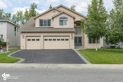 Eagle River Single Family Home For Sale: 17463 Yellowstone Drive