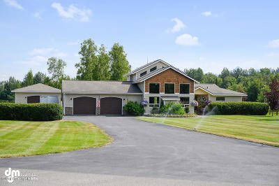 Wasilla Single Family Home For Sale: 1941 Driftwood Circle