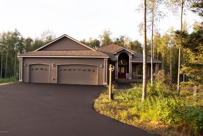 Wasilla AK Single Family Home For Sale: $549,000