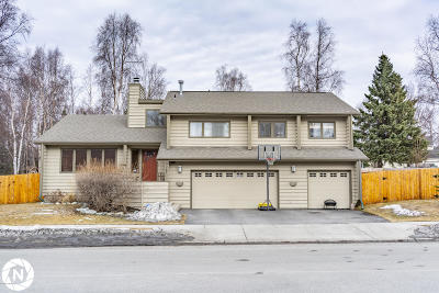 Anchorage Single Family Home For Sale: 2701 Legacy Drive