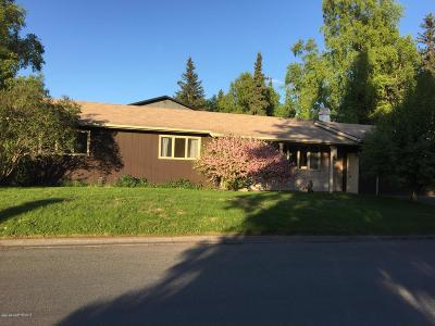 Anchorage Single Family Home For Sale: 2201 Culver Place Place