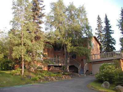 Anchorage Single Family Home For Sale: 6641 Round Tree Drive