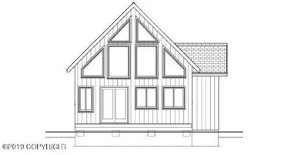 Wasilla Single Family Home For Sale: Cabin To Be Built
