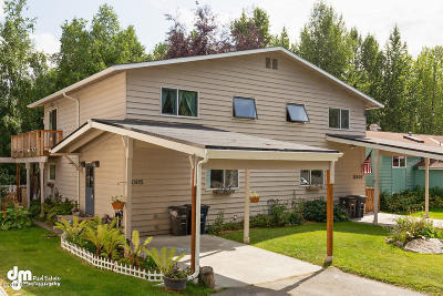 Anchorage Condo/Townhouse For Sale: 3305 Rosella Street #O