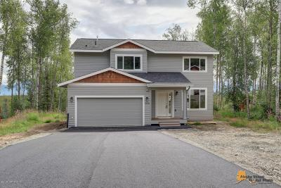 Wasilla Single Family Home For Sale: 4587 N Horizon View Drive