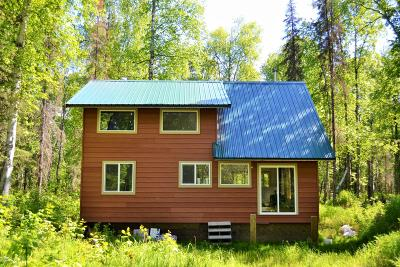 Talkeetna Single Family Home For Sale: B005 Off Whigmi Road