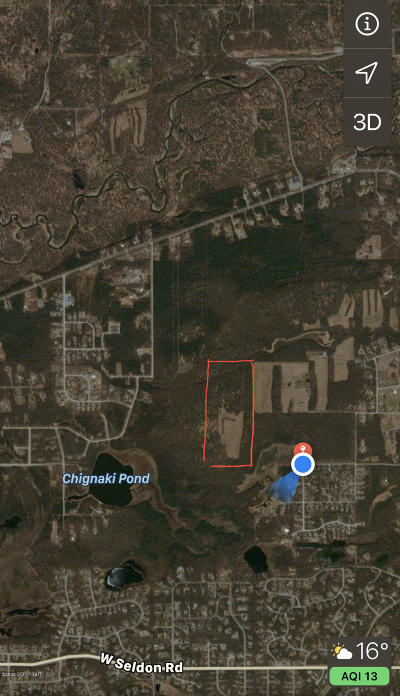 Wasilla Residential Lots & Land For Sale: 541 Wilmington Drive