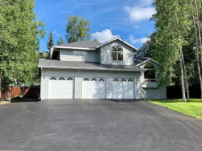 Eagle River Single Family Home For Sale: 18609 Talarik Drive