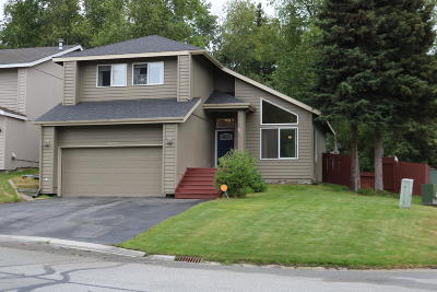 Eagle River, Chugiak Single Family Home For Sale: 18861 Katelyn Circle