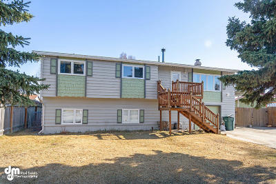 Anchorage Single Family Home For Sale: 7621 Lotus Drive