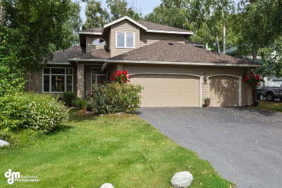 Anchorage Single Family Home For Sale: 3553 Sailboard Circle