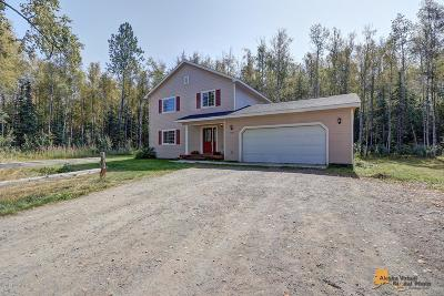 Wasilla Single Family Home For Sale: 6628 W Reiner Circle
