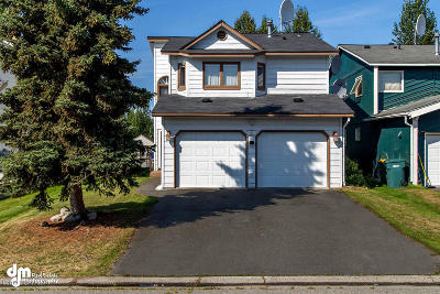Anchorage, Eagle River, Girdwood, Chugiak Single Family Home For Sale: 5801 Jordan Circle