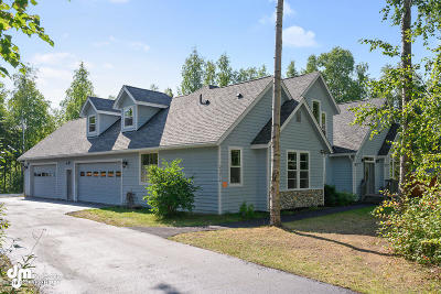 Chugiak Single Family Home For Sale: 23210 Whispering Birch Drive