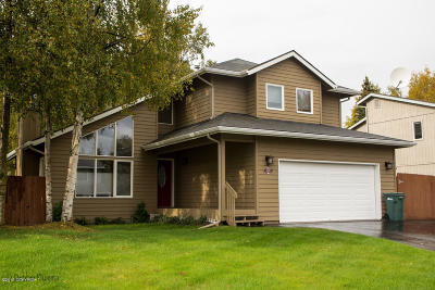 Anchorage Single Family Home For Sale: 8340 Dagan Street