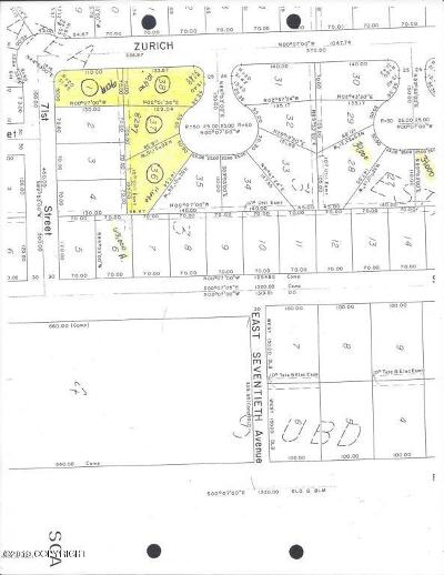 Anchorage Residential Lots & Land For Sale: L37 B3 Galatea Estates