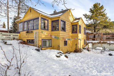 Anchorage Single Family Home For Sale: 1029 Denali Street